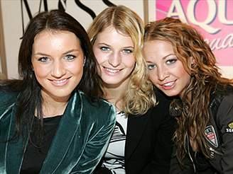 Lucie Králová, Petra Macháčková a Agáta Hanychová
