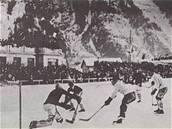 Finále olympijského turnaje v Chamonix 1924