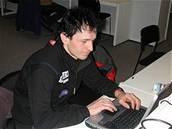 Ladislav Rygl - Ladislav Rygl při on-line rozhovoru se čtenáři iDNES v dějišti MS 2005 v klasickém lyžování v Obersdorfu.