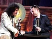 Brian May a Alex Kapranos