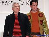 Herec Brian Cox a jeho syn Alan Cox