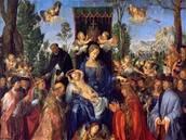 Albrecht Dürer - Růžencová slavnost