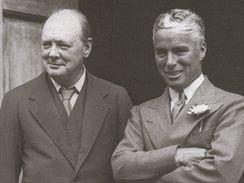 Winston Churchill a Charlie Chaplin, Chartwell 1931