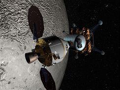 Orion u Měsíce