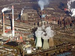 Hutn� komplex ArcelorMittal v sou�asnosti.
