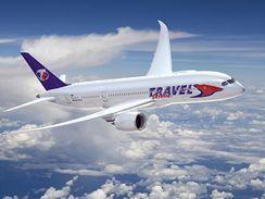 Dreamliner Travel Service - vizualizace