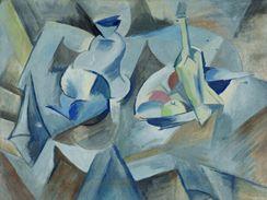 Emil Filla: Zátiší s talířem ovoce (1912)