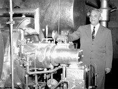 Willis Carrier před prvním centrifugálním chladícím systémem