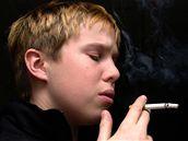 dítě, kouření, cigareta