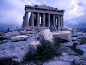 Parthen�n, Akropolis, �ecko