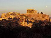 Asi nejzn�m�j�� m�sto Ath�n - Akropolis