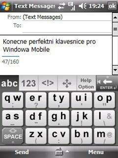 Touchpal offers a big keyboard that has predictive text. It has two letter