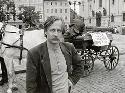 Jiří Dědeček na jaře 1990.