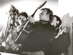 Spirituál kvintet na balkonu Melantrichu, 23.11.1989