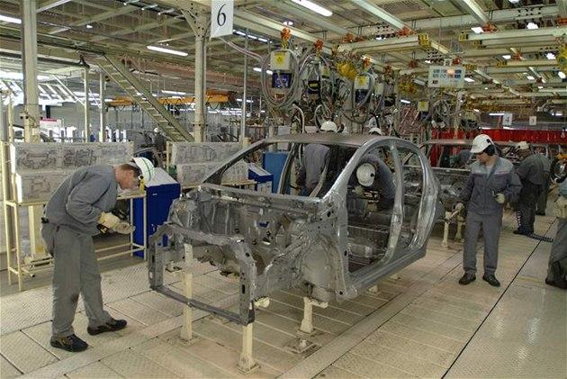Kolínská automobilka TPCA, výroba