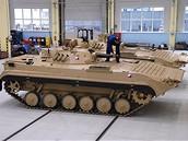 Bojová vozidla pro Afghánistán - První dvě bojová vozidla s označením BVP-2.