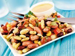 Salát ze tří druhů fazolí