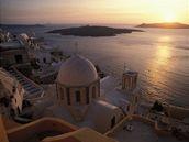 �eck� ostrov Santorini