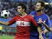 Chorvatsko - Turecko: Šimunič (vpravo) a Arda