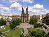 Praha, Kostel sv. Ludmily na náměstí Míru