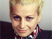 Věra Čáslavská na snímku z roku 1972