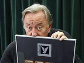 Jiří Lábus platinová deska Harry Potter a Kámen mudrců.
