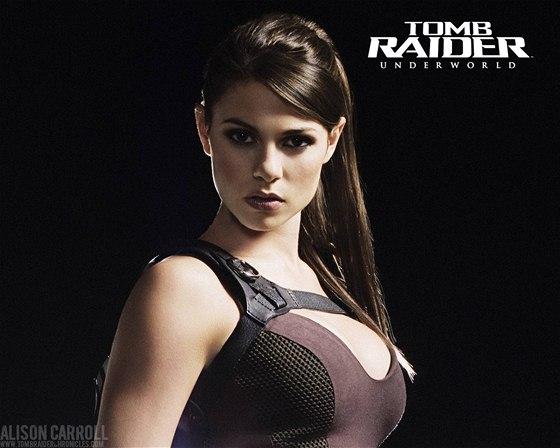 Alison Carroll jako Lara Croft