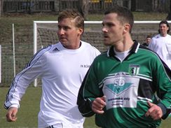 Blšany: Horst Siegl (vlevo)