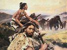 Zdeněk Burian: Lovci mamutů (ilustrace)