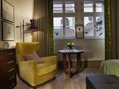 Pokoje mají většinou dřevěné podlahy