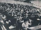 Zasedání bývalého Federálního shromáždění.