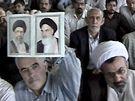 �r�nci p�i k�z�n� ajatoll�ha Chamen�ho v Teher�nu (19. �ervna 2009)