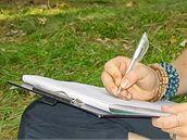 Dopis můžete psát téměř kdekoli.