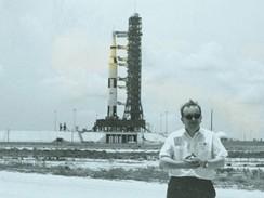 Apollo 11 -autor přímo v Kennedyho vesmírném středisku