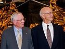 Muži Apolla 11 (zleva Buzz Aldrin, Neil Armstrong a Michael Collins)  (20.7.2009)