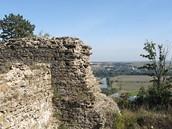 Z��cenina hradu Cvil�n