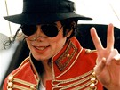 Michael Jackson p�i sv� n�v�t�v� Prahy v roce 1996