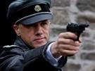 Christoph Walz jako d�stojn�k Landa ve filmu Hanebn� pancharti