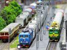 Největší modelová železnice ve střední Evropě na výstavě Království železnic v Praze.