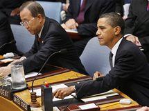 Americký prezident předsedal Radě bezpečnosti OSN poprvé (24. září 2009)