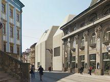 Středoevropské fórum Olomouc (architektonická studie)
