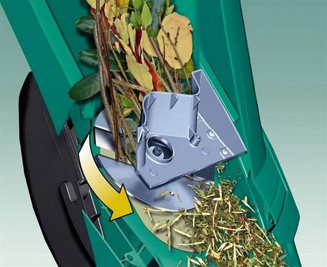 Измельчитель садовый Bosch AXT Rapid 2000.