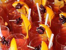 Brusinkové koktejly
