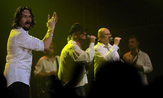 Skupina J.A.R. slavila dvacetiny - Praha, Velký sál Lucerny (17. listopadu 2009)