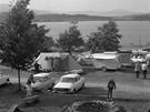 Lipno, 1973. V kempech u československých přehrad se v létě potkávali snad
