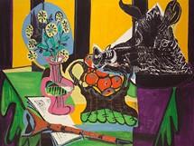 Emil Filla, Z�ti�� s�kan�� hlavou, 1949