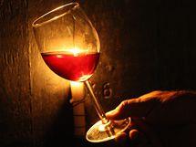 Víno z Velkých Žernosek u Litoměřic, ilustrační foto