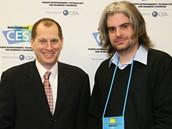 CES 2010 - Gary Shapiro, šéf pořádající agentury CEA a Jan Kužník šéfredaktor Technetu