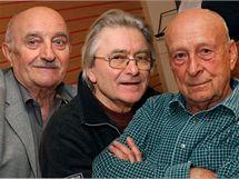 Josef Somr, Ladislav Mrkvička, Stanislav Zindulka