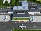 Nové Letiště ve Vodochodech má ročně pojmout až 3,5 milionu cestujících.